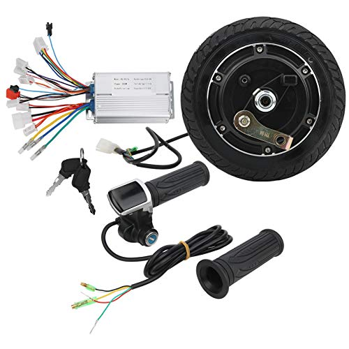 Juego de conversión de Scooter eléctrico, Carcasa de Controlador de aleación de Aluminio, Motor de Cubo sin escobillas, para Scooter eléctrico para niños, Regalos de Scooter eléctrico DIY
