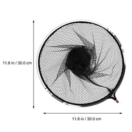 BESPORTBLE Fishing Net Fish Landing Net Durable Fishing Mesh Non Slip Grip Lightweight Fish Catching Net