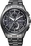 シチズン CITIZEN 腕時計 ATTESA アテッサ Eco-Drive エコ ドライブ 電波時計 ダイレクトフライト DLC仕様 AT8044-56E メンズ