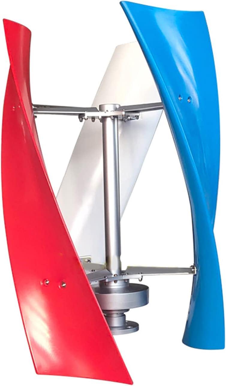 GTFHUH 600W 800W 1000W Generador de la turbina Vertical del Viento Generadores de energía Alternativa 12V 24V MPPT Controlador híbrido Off Inversor