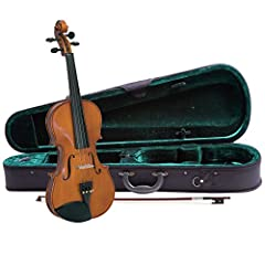 Every Cremona student violin comes with US-made Prelude strings, the educator's preferred strings for students Properly fitted hardwood pegs and quality lightweight composite tailpiece with 4 smooth fine tuners for easy tuning Low profile Kaufman-sty...