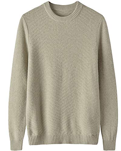 zhili Heren 100% Merino wollen trui Jumpers Mock hals