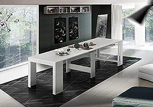 طاولة كونسول من تشكيلة براتيكا موفرة للمساحة ومتعددة الاغراض، قابلة للتمديد - لغرفة المعيشة وغرفة الطعام والرواق والمكتب -...