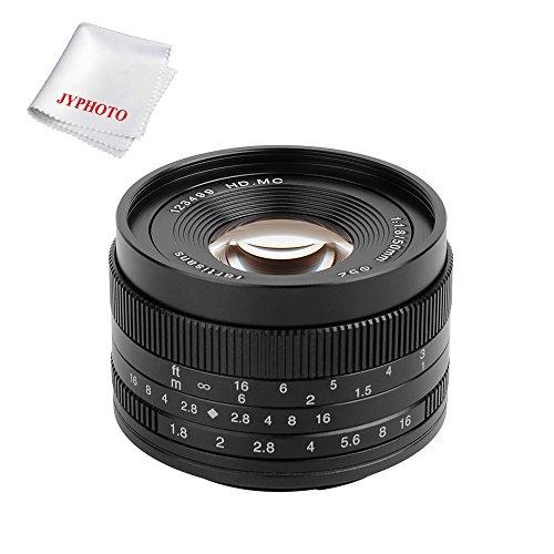 Objetivo 7artisans 50mm f1.8 montura Micro 3/4 para Micro cuatro tercera cámaras como emp1 emp2 E-PL1 E-PL2 E-PL3 E-PL5 E-PL6 E-PL7 e-pl8 E-P1 E-P2 E-P3 E-P5 E-P6 E-M1 E-M5 E-M10