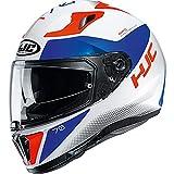 I70TWUL - Casco de motocicleta HJC I70 Tas L blanco azul (MC216H)