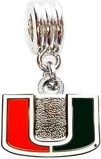 Heavens Jewelry UNLV University of Nevada LAS Vegas Rebels Charm Slide Pendant for Necklace European Charm Bracelet Fits Most Name Brands DIY ETC