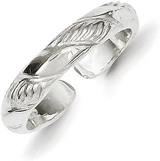 Lex & Lu Sterling Silver Toe Ring LAL23064