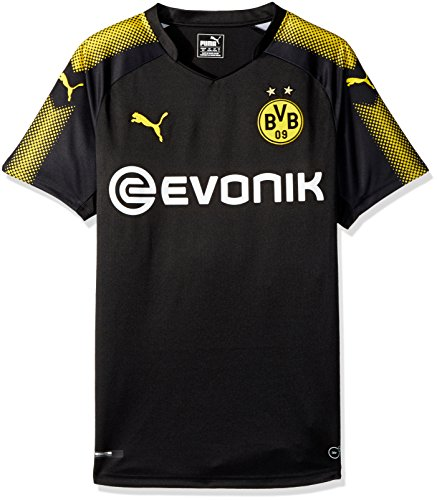 PUMA Mens Borussia Dortmund Licensed Replica Jersey 2017-2018, X-Large, Away