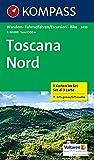 Toscana Nord: Wanderkarten-Set in der Schutzhülle mit Radrouten. GPS-genau.