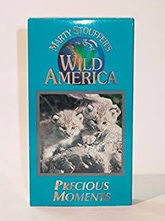 Marty Stouffer's Wild America - Precious Moments (VHS)