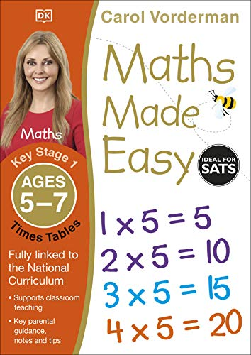 Maths Made Easy Times Tables Ages 5-7 Key Stage 1 (Made Easy Workbooks)