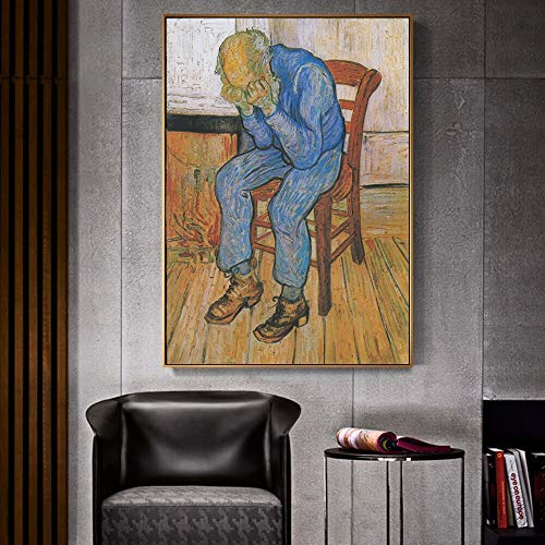 Canvas schilderij kunstwerken kopie schilder impressionisme muur wanddecoratie frameloze schilderij 90X120CM