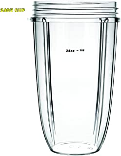 Replacement 24 oz tall Cups for Nutribullet 600W/900W machine /24 oz bullet blender cups for nutribullet cups replacement