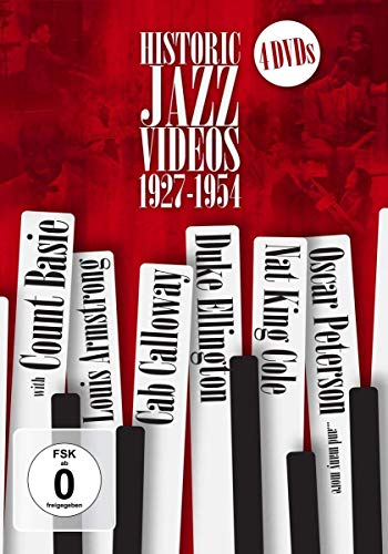Historic Jazz Videos 1927 - 1954 [4 DVDs]