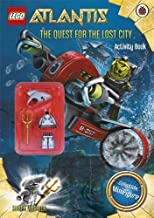 Lego Atlantis: The Quest for the Lost City Book with Lego Figurine by Ladybird(Ladybird) (2010-04-01)