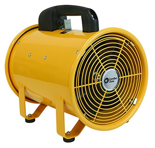 Comfort Zone 8 Inch High Velocity Utility Blower Fan (CZBU80)