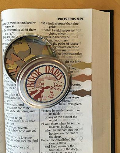 Verse Keeper Book Darts - Passage Marker Bookmarks (Tin of 250 MIXED BOOK DARTS)