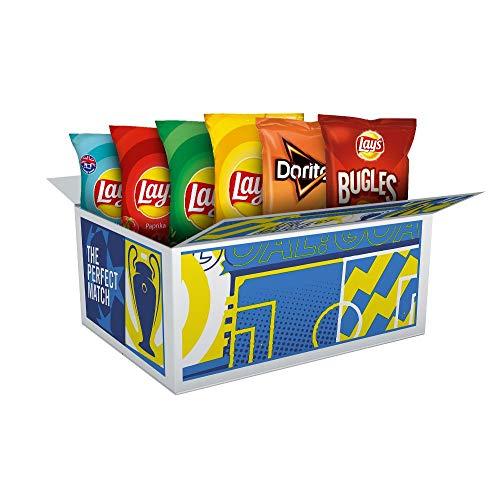 Lay's UEFA Champions League Snacks Box – 4x Lay's Chips, 1x Lay's Bugles & 1x Doritos