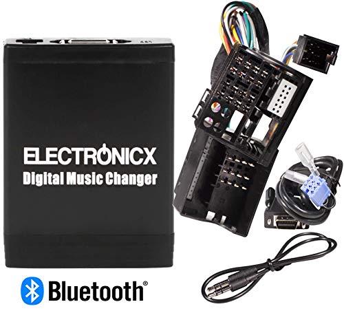 3.5 mm Aux in iPod MP3 USB lecteur de musique 8 broches pour Renault 1998-2011 Digital Interface dentr/ée audio de voiture avec carte SD Ren8 Renault iPhone adaptateur auxiliaire st/ér/éo
