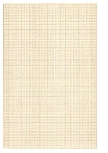 Clairefontaine 96554C Confezione Carta Millimetrata, 32 x 22.3 x 0.3 cm, Bianco