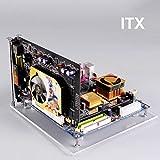 PC Open Frame Test Bench ITX ATX Mini ITX MATX EATX Motherboard Transparent Acrylic Overlock Computer Case DIY Mod Base Stand