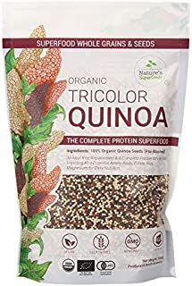 Nature's Superfoods Organic Tricolor Quinoa Seeds 500g