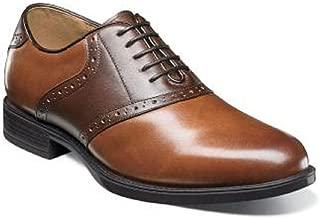 Mens Midtown Plain Toe Saddle Oxford