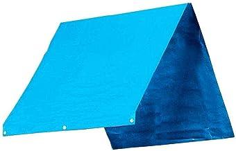 LXDZXY Outdoor Dekzeil,Swing Zonnescherm Speeltuin Dak Luifel Zomer Waterdicht Tarp Geperforeerd/Blauw/Zoals getoond