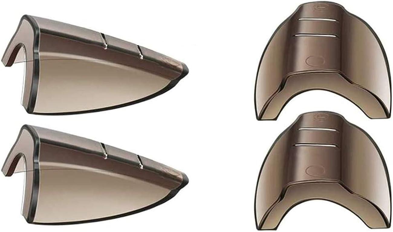 Protectores laterales antideslizantes flexibles para gafas de seguridad, se adaptan a lentes pequeñas a medianas