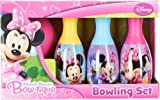 Disney Little Girls' Minnie Mouse Bow-tique Bowling Set (FBA_27373MIN)