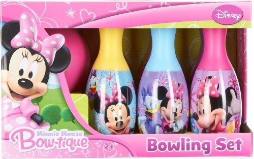 Disney Little Girls' Minnie Mouse Bow-tique Bowling Set (FBA_27373MIN)