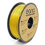 Amazon Brand- Eono, filamento per stampa 3D, materiale PLA, 1,75 mm(± 0.03 mm), 1 kg,gial...