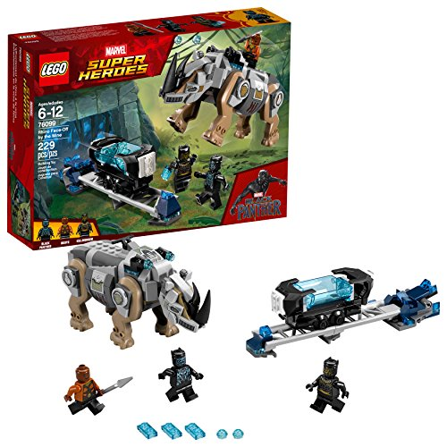 LEGO Marvel Super Heroes Rhino Face-Off by the Mine 76099 Building Kit (229 Piece)
