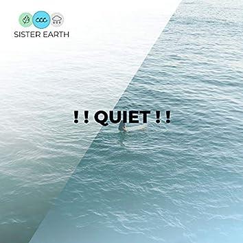 ! ! Quiet ! !