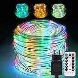 GreenClick 336 - Tubo luminoso a LED, 20 m Catena luminosa a LED per esterni, tubo luminoso per esterni, tubo luminoso colorato in Tubo luminoso colorato con spina.
