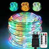 GreenClick Tira de luces 20m 336 LED, Mangueras Luces Led RGB Cadena de Luces LED Colores IP65...