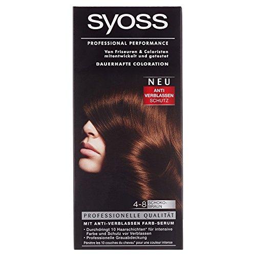 Syoss Professional Performance Coloration Schokobraun, 1 Stück
