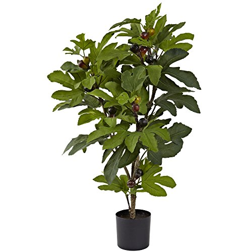 Nearly Natural 5440 Fig Tree, 32-Inch