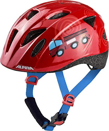 ALPINA XIMO Fahrradhelm, Kinder, firefighter, 49-54