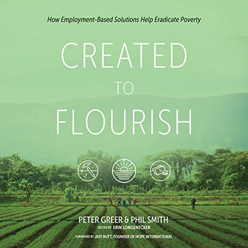 Created to Flourish audiobook cover art