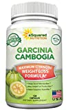100% Natural Garcinia Cambogia Extract - 120 Capsules, Ultra High Strength HCA Diet Pills, Pure Weight Loss, Best Extreme Fat Burner Slim & Detox Max, Premium Blocker for Men & Women
