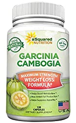 commercial 100% Natural Garcinia Cambodian Extract – 120 Capsules, Ultra High HCA Diet Pill, Pure… slim ultra garcinia