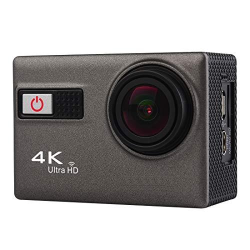 WIFI Sport Videocamera Liuwenjin F68 Fotocamera sportiva impermeabile 4K Ultra HD WiFi portatile, schermo da 2,0 pollici, Novatek 96660, obiettivo grandangolare 170 A + gradi, profondità resistente al