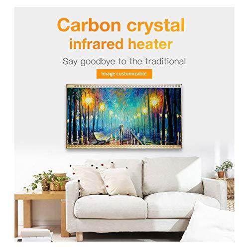 HL Heizung Panel Gut Montiert Carbon Kristall Infrarot Heizung Bad Home Office Kühler 800 Bild 3*