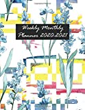 Weekly Monthly Planner 2020-2021: 2 Years Pocket Planner January To December |