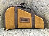 Bagmaster Leather Handle Pistol Case for Guns up to 5 1/2' Barrels - LHPC 4