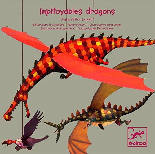 Mobile Impitoyables dragons décorations à suspendre Djeco