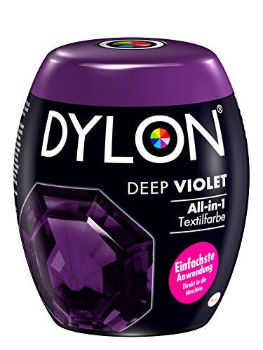 DYLON Deep Violet All-in-1 Textilfarbe (für frische und intensive Farben) 1 x 350 g