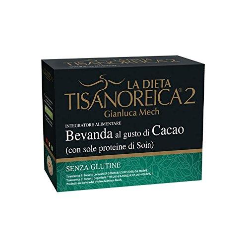 Tisanoreica 2 Bevanda Al Gusto Di Cacao Con Sole Proteine Di Soia 30g 4 Confezioni