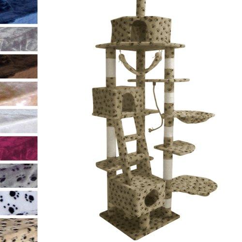 Leopet Katzen Kratzbaum deckenhoch höhenverstellbar von 2,30m bis 2,50m